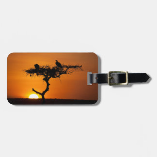 Sunrise at the Masai Mara, Kenya Luggage Tag