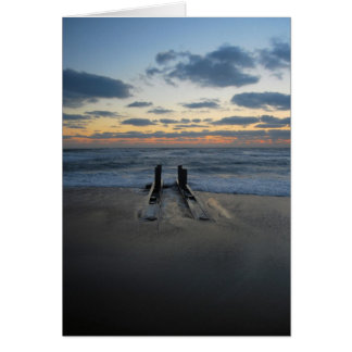 Sunrise at the Outer Banks Stationery Note Card