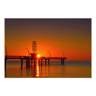 Sunrise at the Pier Photo Print