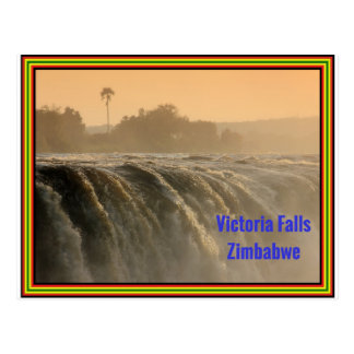 Sunrise at Victoria Falls Postcard