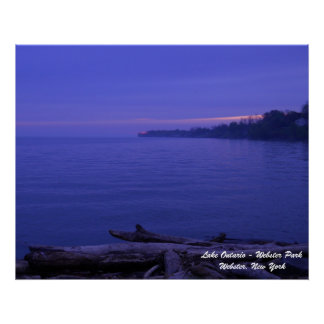 Sunrise At Webster Park Poster