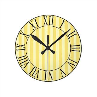 Sunrise Avenue Round Clock