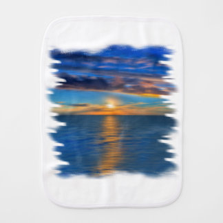 Sunrise Baby Burp Cloths