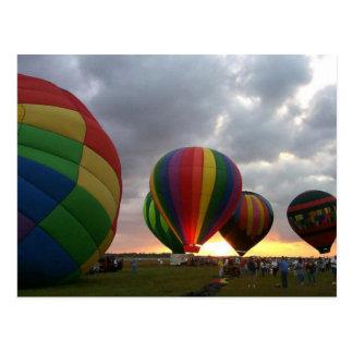 Sunrise Balloon Race Postcard