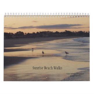 Sunrise Beach Walks Calendars