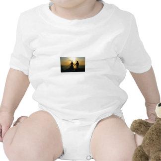 Sunrise Beach Wedding Baby Bodysuit