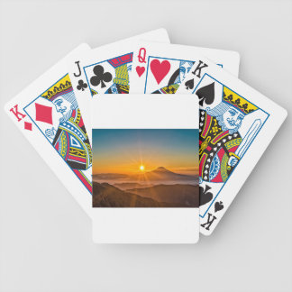 Sunrise Bicycle Playing Cards