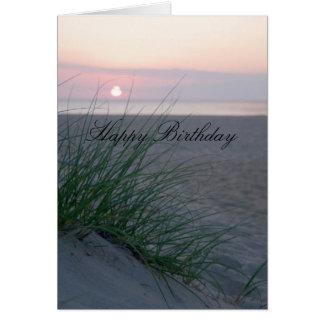 Sunrise Birthday Card