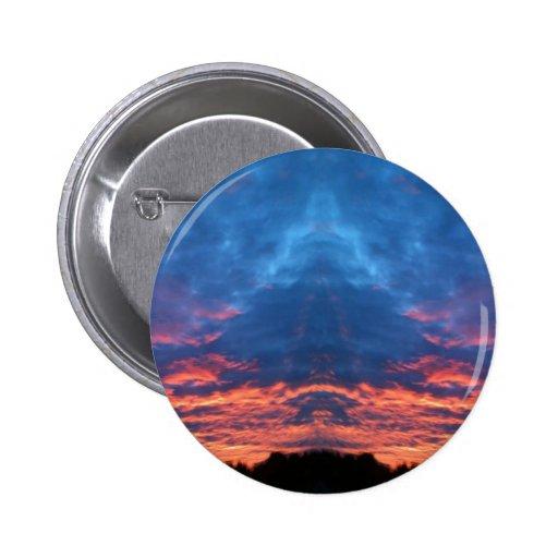 Sunrise Buddha Buttons
