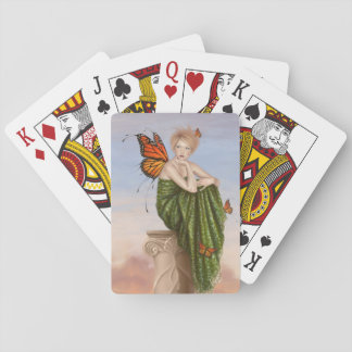Sunrise Butterfly Fairy Classic Playing Cards