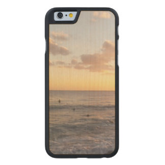 Sunrise Carved® Maple iPhone 6 Slim Case