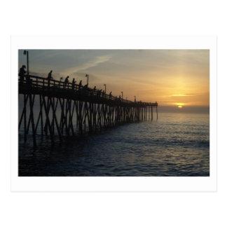 Sunrise Catch Postcard