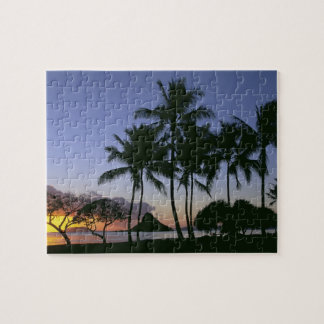 Sunrise Chinamans Hat Kaneohe Bay Kaneohe Oahu Jigsaw Puzzle