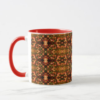 Sunrise Christmas Lights Pattern 1 Mug