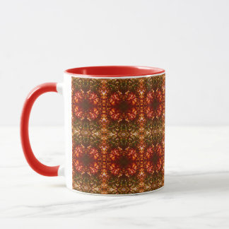 Sunrise Christmas Lights Pattern 2 Mug