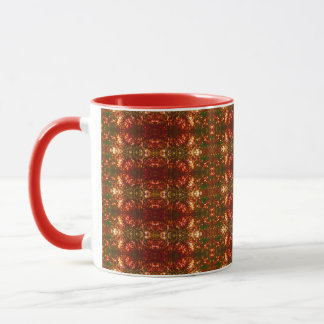 Sunrise Christmas Lights Pattern 3 Mug