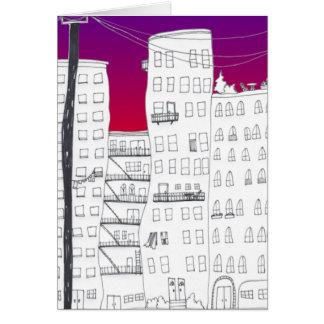 Sunrise City Card