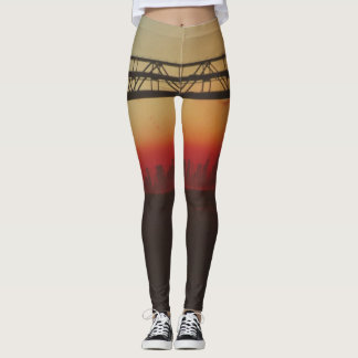 Sunrise City Leggings