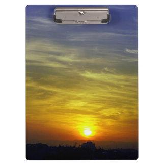 Sunrise Clipboard