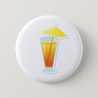 Sunrise Cocktail 2 Inch Round Button