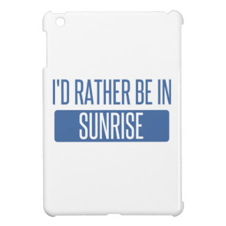 Sunrise Cover For The iPad Mini