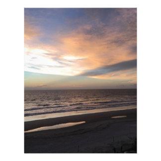 Sunrise Customized Letterhead