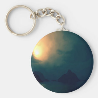 Sunrise Darkness Prevails Light Key Chain
