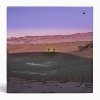 Sunrise Death Valley National Park 3 Ring Binder