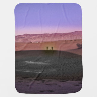 Sunrise Death Valley National Park Baby Blanket