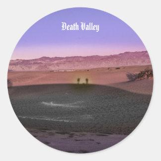 Sunrise Death Valley National Park Classic Round Sticker