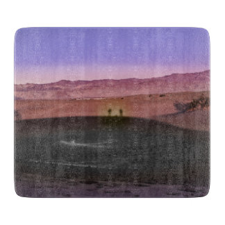 Sunrise Death Valley National Park Cutting Board