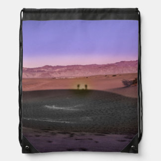 Sunrise Death Valley National Park Drawstring Bag