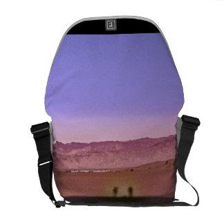 Sunrise Death Valley National Park Messenger Bags