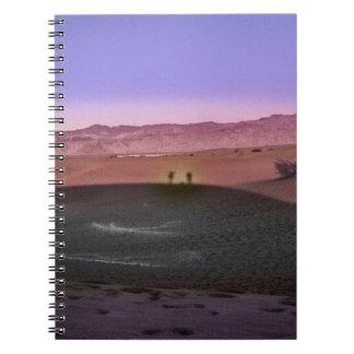 Sunrise Death Valley National Park Notebook