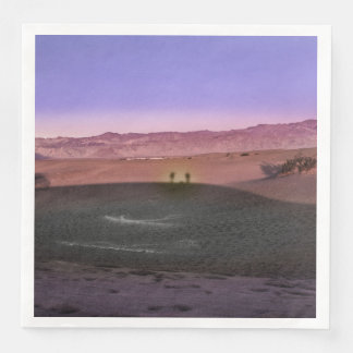 Sunrise Death Valley National Park Paper Napkin