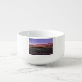 Sunrise Death Valley National Park Soup Mug