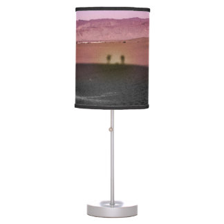 Sunrise Death Valley National Park Table Lamp