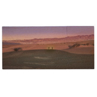 Sunrise Death Valley National Park Wood USB 2.0 Flash Drive