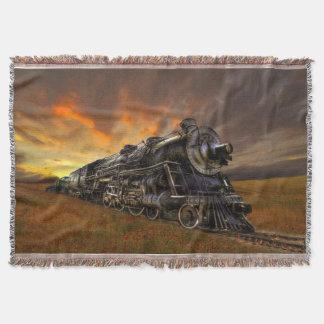 Sunrise Express Throw Blanket