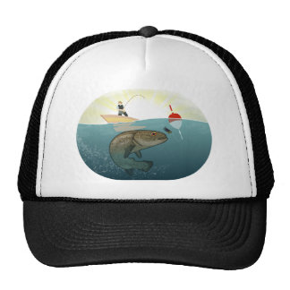 Sunrise Fishing Trucker Hat