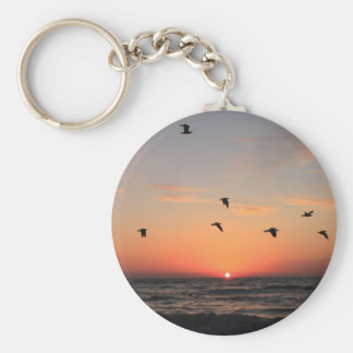 Sunrise Flight Key Chains