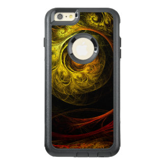 Sunrise Floral Red Abstract Art Commuter OtterBox iPhone 6/6s Plus Case