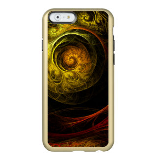 Sunrise Floral Red Abstract Art Incipio Feather® Shine iPhone 6 Case