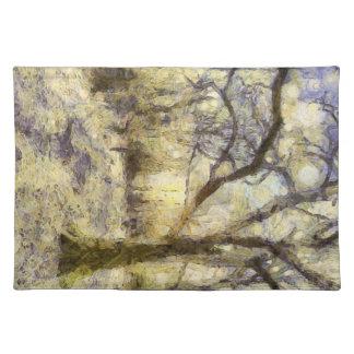 Sunrise Forest Art Placemat