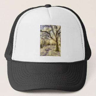 Sunrise Forest Art Trucker Hat
