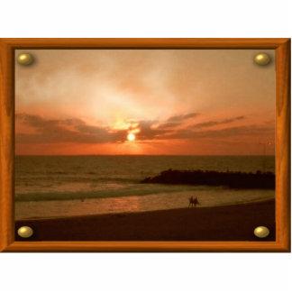 Sunrise Frame Photo Sculpture
