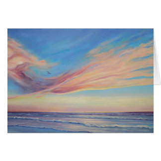 Sunrise Galveston Card