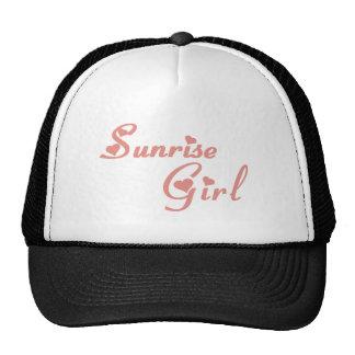 Sunrise Girl tee shirts Trucker Hat