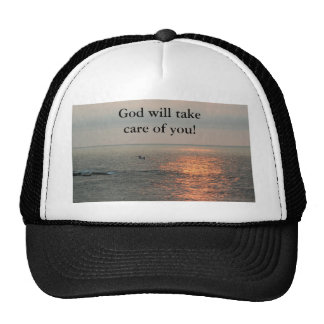 Sunrise, God will take care of you! Hats