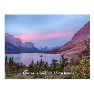 Sunrise Goose Island Postcard
